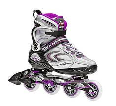 Roller Derby Aerio Q 80 Womens Inline Skates 2013 - The Aerio Q-80 Womens Inline Semi-soft Skate creates maximum comfort with memory foam padding for a personal fit. The cam level buckle with a power strip retains your confidence and success of a strong secure stride. Practice and master your skate as you maneuver your skill with great control. The Aerio Inline Skate offers you a smooth quick ride, enjoyable workout and will better your fitness. The look and style of Aerio Q-80 Inline...