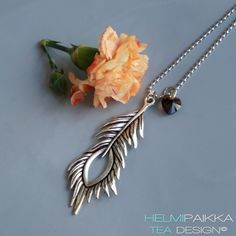 Helmipaikka Oy - Joka päivä on korupäivä - Helmipaikka. Swarovski, Necklaces, Pendant Necklace, Silver, Jewelry, Bijoux, Chain, Jewlery, Jewels