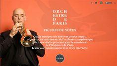 [Jeu interactif] FIGURES DE NOTES : découvrez les instruments de l'orchestre symphonique avec @OrchestreParis #FDLM