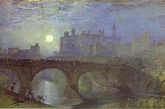"""""""Alnwick Castle"""" (c. By Joseph Mallord William Turner, from Covent Garden, London, UK - watercolor on paper. Alnwick Castle, Joseph Mallord William Turner, Covent Garden, Art Romantique, Turner Painting, Art Aquarelle, Watercolor Landscape Paintings, Oil Paintings, Watercolour Art"""