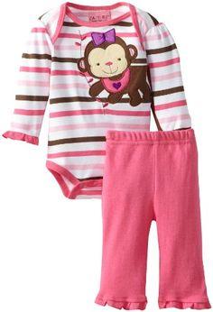 Carter's Watch the Wear Baby-Girls Newborn Monkey Bodysuit Pant Set, Dark Pink, 0-3 Months Carter's Watch the Wear,http://www.amazon.com/dp/B00CH106FY/ref=cm_sw_r_pi_dp_-slhsb1D2DBFCPAC