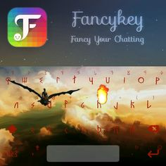 This is my keyboard :●) with Fancykey, you can create your own