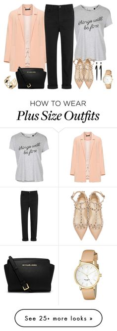 """""""Untitled #3058"""" by emmafazekas on Polyvore featuring Manon Baptiste, Topshop, Valentino, T By Alexander Wang, Michael Kors, Kate Spade, Rebecca Minkoff and Isabel Marant"""