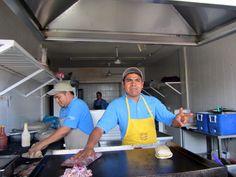 Cuba and Chuy at Tacón de Marlin (favourite restaurant), across from the Puerto Vallarta Mexico airport.