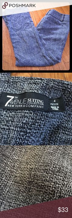 Stretch dress pants Awesome condition, flattering fit! 7th Avenue Pants