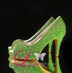 Summer Lime Green By Joyce Diveley On Etsy. Zebra WeddingWedding ShoesBridal  ...