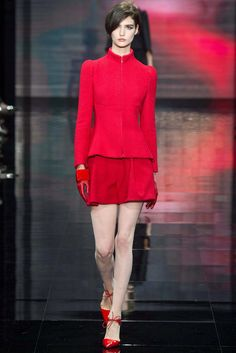 Armani Privé Fall 2014 Couture Fashion Show Collection