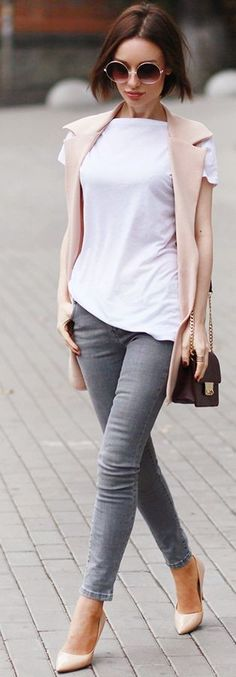 #nude #neutrals #spring #style #outfitideas | Playing With Neutrals | Sonya Karamazova