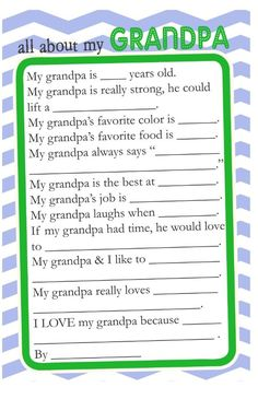 Pin It You may also like -Fathera?s Day Handprint Tree Mothera?s Day Handprint Poem *Free Printable{Last Minute Mothera?s Day Ideas: Free Digi Templates! Daddy Day, Mom Day, Mothers Day Poems, Mother Day Gifts, Father's Day Activities, Mother's Day Printables, All About Mom, Father's Day Diy, Grandparent Gifts