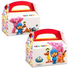 Easy Pocoyo Favor Boxes (empty)