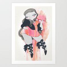 Foxxy+Art+Print+by+STUDIOKILLERS+-+$13.52