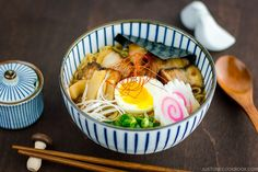 Spicy Shoyu Ramen スパイシー醤油ラメーン Easy Japanese Recipes, Japanese Dishes, Japanese Food, Japanese Chicken, Japanese Ramen, Ramen Recipes, Asian Recipes, Cooking Recipes, Ethnic Recipes