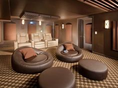 Trends in home theater seating | Home remodeling - Ideas for basements, home theaters & more | HGTV BilliardFactory.com