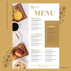 Food Menu Template, Restaurant Menu Template, Restaurant Menu Design, Vegan Burger Restaurant, Seafood Restaurant, Cafe Menu Design, Food Menu Design, Resturant Menu, Healthy Desayunos