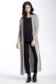 The Joanna Cardigan in Salt and Pepper