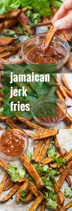 Jamaican Jerk Sweet Potato Fries
