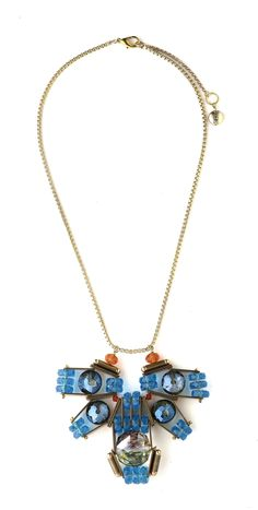 SCHO - 010 Cyber Octopus Complex necklace