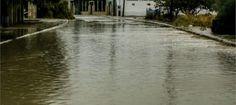Πύργος: Πλημμύρες στο κέντρο της πόλης μετά από δύο ώρες δυνατής βροχής