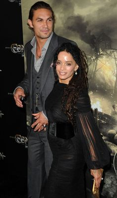 "Jason Momoa Photos Photos - Actors Lisa Bonet (L) and Jason Momoa attend the world premiere of 'Conan The Barbarian' held at Regal Cinemas L. Live on August 2011 in Los Angeles, California. - Premiere Of Lionsgate Films' ""Conan The Barbarian"" - Arrivals"