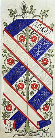 Augustus Welby Northmore Pugin - Wallpaper design for the House of Lords' Library