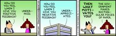 The real key to motivation- Dilbert