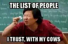 A farmer never lets anyone else take care of their... | Farming Memes