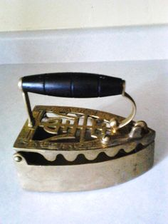 brass coal iron by greilstreasures on Etsy    $65.00