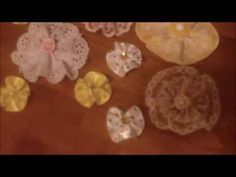 "My ""Jule Box"" handmade flowers! (#140) - YouTube"