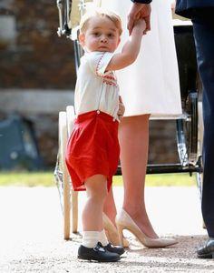 Kleiner Mann ganz groß: Forscher ermittelten jetzt, wiePrinzGeorge als Erwachsener aussehen wird.