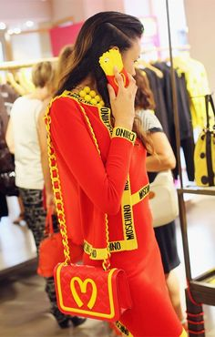 All over Moschino