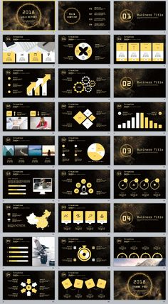 27+ Glod Report Creative PowerPoint template Powerpoint Design Templates, Ppt Design, Slide Design, Design Ideas, Graphic Design, How To Create Infographics, Infographics Design, Presentation Layout, Startup