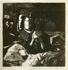 Need Artist: Kathe Kollwitz Start Date: 1893 Completion Date:1897 Style: Expressionism Series: A Weavers' Revolt Genre: genre painting Tags:...