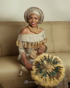 Latest Gele and Turban Styles 2018 and African appearance African Wedding Attire, African Attire, African Fashion Dresses, African Wear, African Dress, Traditional Wedding Attire, African Traditional Wedding, African Traditional Dresses, Nigerian Outfits