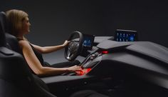While Acura unveiled its new Precision Cockpit at the show. I know it's not a car, but it looks really cool.