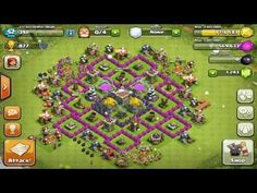 BEST Town Hall Level 7 FARMING Base Design/Setup! - AMAZING NEW TH7 - Clash Of Clans