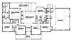 1300 Sq Feet House Plans With Wrap Around Porch additionally 3000 Sq Ft House Plans One Story further 24x44 Ranch House Plans as well Four Bedroom House Plans With Jack And Jill moreover 25 X 40 Ranch House Plans. on one story popular house plans