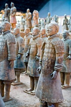 China@Monica Raposo Diaz   Happy to see you today!  We went to China and actually saw these unearthed Terra Cotta Warriors! So Cool!!! Trip of a lifetime.