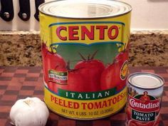 San marzano tomatoe sauce with caramelized onions