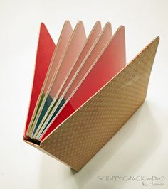 A Board Book tutorial! Board book tutorial,haven't tried scrap books yet, this may be the start! Great gift idea for graduations Mini Albums, Mini Album Scrap, Up Book, Book Art, Diy Paper, Paper Crafts, Board Books For Babies, Diy Board Books, Mini Books