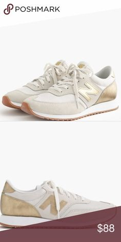 2375954e085 New Balance x JCREW Rare 620 in GOLD SALT size 7 I wore these one time.  They are in excellent almost new condition and sold out everywhere New  Balance Shoes ...