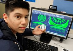 Kids prototype rim designs with accuracy using #cad #3dprinting #rims by jaybentley82