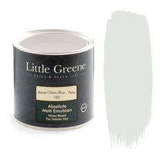 Little Greene Intelligent Matt Emulsion - Bone China Blue Pale - http://godecorating.co.uk/little-greene-intelligent-matt-emulsion-bone-china-blue-pale/