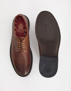 Base London Maudslay Scotch Grain Tan | Shop men's clothing and shoes at The Idle Man Formal Shoes, Tory Burch Flats, Scotch, London Brown, Men's Shoes, Footwear, Base, Man Shop, Men's Clothing