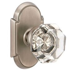 Emtek Old Town Clear Knob (but with different rosette), $109