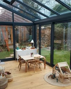 Garden makeover, Phase 1. Alice in Scandiland Garden Makeover, Patio Makeover, Outdoor Rooms, Outdoor Living, Outdoor Decor, Patio Design, Garden Design, Lean To Conservatory, Large Backyard Landscaping