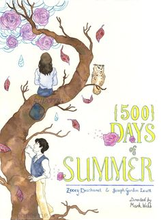 #romantic #movie #500daysofSummer byPaperrie