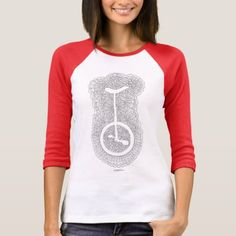 Unicycle Drawing Meditation (White) T-Shirt   biker decor, 80s biker chick, biker trash woman #bikelife #bikerslife #bikerlove, 4th of july party Harley Davidson Quotes, Biker Love, Biker Tattoos, Baseball Mom, Baseball Party, Biker Shirts, Biker Quotes, Unicycle, Biker Chick