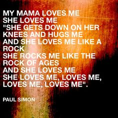 Image result for loved me like the rock of ages