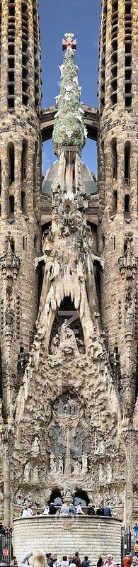 Sagrada Família, Barcelona , Spain