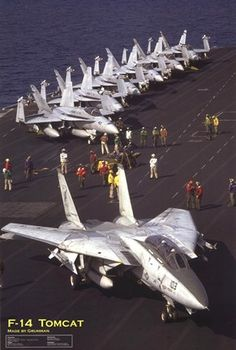 F-14 Tomcat - the average single-storey house will fit within a volume defined by its length and wingspan and height.